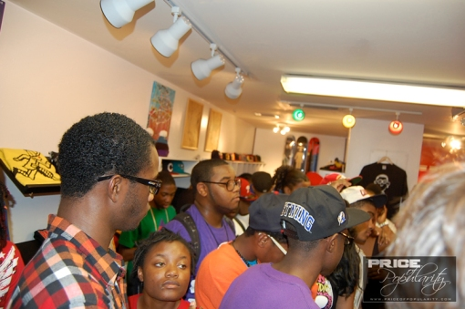 Shop was packed homie!